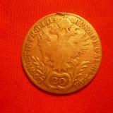 20 Kr, Austria, 1815, argint, lit.A, d=2, 7, cal. medie, urme agatat., Europa