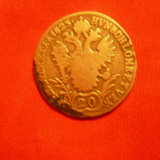 20 Kr, Austria, 1823, argint infer., lit.A, d=2, 7, cal. medie