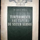 Colectia SRSC - Temperamente sau tipuri sistem nervos, 1957 - Carte de lux
