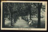 Vedere din parcul Salistei , circulata , 1931, Printata