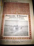 Cumpara ieftin Elena Bacaloglu, Preuves D'Amour, Bucuresti 1914, autograf