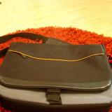 Geanta de laptop superba - calitate de TOP, Nailon, Maro