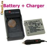 Incarcator baterie NB4L/8L + baterie NB4L/8L + expediere gratuita Posta - sell by PHONICA