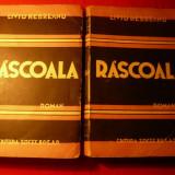 LIVIU REBREANU - RASCOALA -2vol.Ed.Socec 1943 - Roman