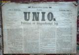 Colectie Ziar vechi: UNIO - 1867-68 (lb. magh),129 buc.  (RRR!)