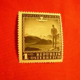 Serie- Timbru Binefacere 1945 AUSTRIA, 1 valoare