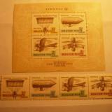 Serie+Colita - Aviatie, Parasutism, Cosmos-Aerofila '67 Ungaria - Timbre straine