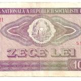 LL bancnota Romania 10 lei 1966 - Bancnota romaneasca