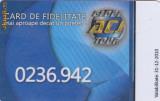 Cumpara ieftin Card plastic de fidelitate Globe Tour