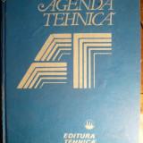 AGENDA TEHNICA GENERALA- Ed.Tehnica -1990