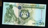 Lesotho 20 maloti 2001 necirculata