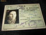 CARNET CFR  1941, Documente