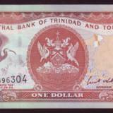 Trinidad & Tobago 1 dolar 2002 necirculata