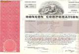 348 Actiuni -RONSON CORPORATION -seria RC 3952