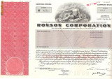 350 Actiuni -RONSON CORPORATION -seria RC 4271