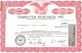 328 Actiuni -COMPUTER RESEARCH, INC. -seria PC 21087