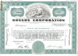 439 Actiuni - RONSON CORPORATION -seria N 164043