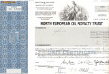 436 Actiuni - NORTH EUROPEAN OIL ROYALTY TRUST -seria SN17457