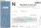 378 Actiuni -NORTH EUROPEAN OIL ROYALTY TRUST-seria NEC2742