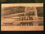 TURNU - SEVERIN  RUINELE PODULUI TRAIAN LA 1909