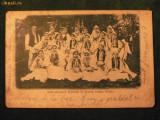 SALISTE - ADUNAREA FONDULUI DE TEATRU ROMAN LA 1903
