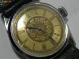 DE COLECTIE ! Ceas de mana  barbatesc anii'30 cadran superb !, Mecanic-Manual