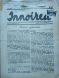 Ziarul Innoirea , 1940 , exp. catre Grigore Trancu Iasi , timbru si banderola