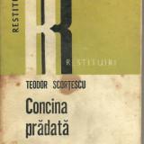 Concina pradata de Teodor Scortescu