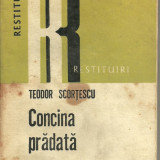 Concina pradata de Teodor Scortescu - Roman