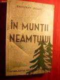 CALISTRAT HOGAS - IN MUNTII NEAMTULUI - 1934
