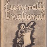 Marin Iorda / Funeralii nationale - editia I, interbelica - Carte Editie princeps