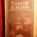 M.SADOVEANU - POVESTIRI DIN RAZBOIU-Ed.aIIIa ilustrata - Nuvela
