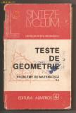 """(C203) """"TESTE DE GEOMETRIE"""" DE CATALIN-PETRU NICOLESCU"""