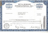 479 Actiuni - Bun & Burger International, Inc. -seria B 574