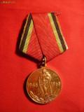 Medalie -20 Ani -Victoria contra Fascismului ,URSS 1965