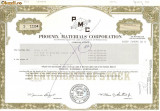506 Actiuni -Phoenix Materials Corporation -seria S 1104