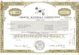 508 Actiuni -Phoenix Materials Corporation -seria S 1409