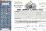 624 Actiuni -North European Oil Royalty Trust -seria SN 03379