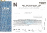 634 Actiuni -North European Oil Royalty Trust -seria NEC 2692