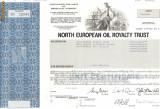 630 Actiuni -North European Oil Royalty Trust -seria SN 16046