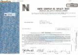 633 Actiuni -North European Oil Royalty Trust -seria NEC 2743