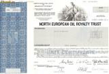 620 Actiuni -North European Oil Royalty Trust -seria SN 16920