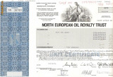 616 Actiuni -North European Oil Royalty Trust -seria SN 16760