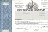 628 Actiuni -North European Oil Royalty Trust -seria SN 16009