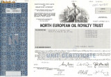 625 Actiuni -North European Oil Royalty Trust -seria SN 05962
