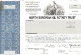 631 Actiuni -North European Oil Royalty Trust -seria SN 17215