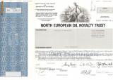 627 Actiuni -North European Oil Royalty Trust -seria SN 13627