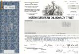 618 Actiuni -North European Oil Royalty Trust -seria SN 03061