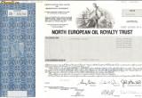 626 Actiuni -North European Oil Royalty Trust -seria SN 16194