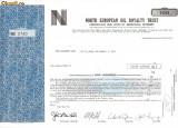 637 Actiuni -North European Oil Royalty Trust -seria NEC 2740